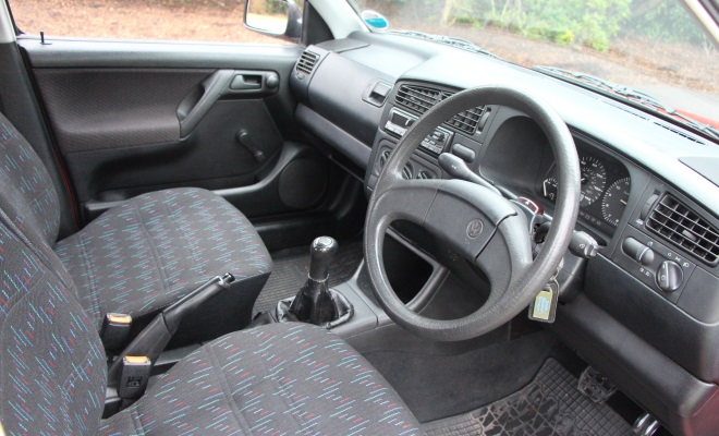 1994 VW Golf Ecomatic interior