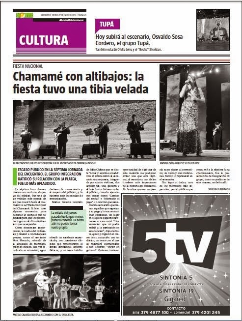 Suplemento Cultural del Diario Norte
