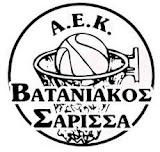 ΑΕΚ ΒΑΤΑΝΙΑΚΟΣ ΣΑΡΙΣΣΑ
