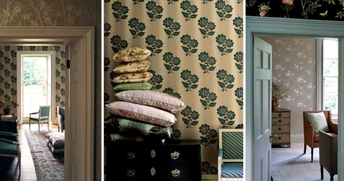 Colefax And Fowler Wallpaper