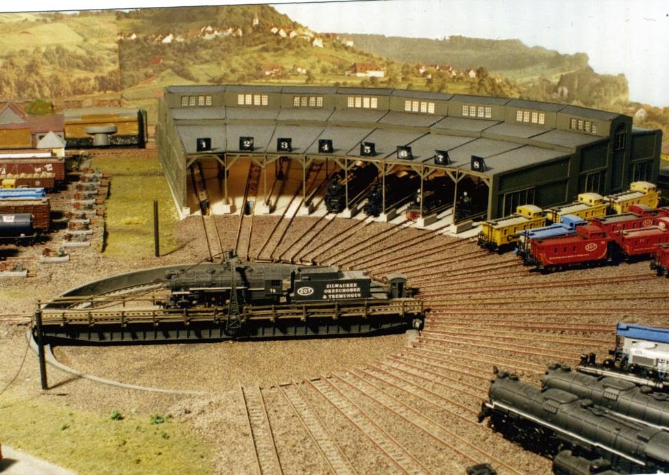 Model Trains For Beginners Ho Scale Turntable