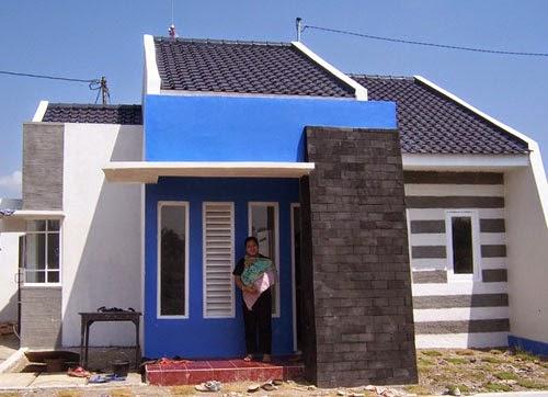 desain rumah minimalis 1 lantai type 21 gambar foto