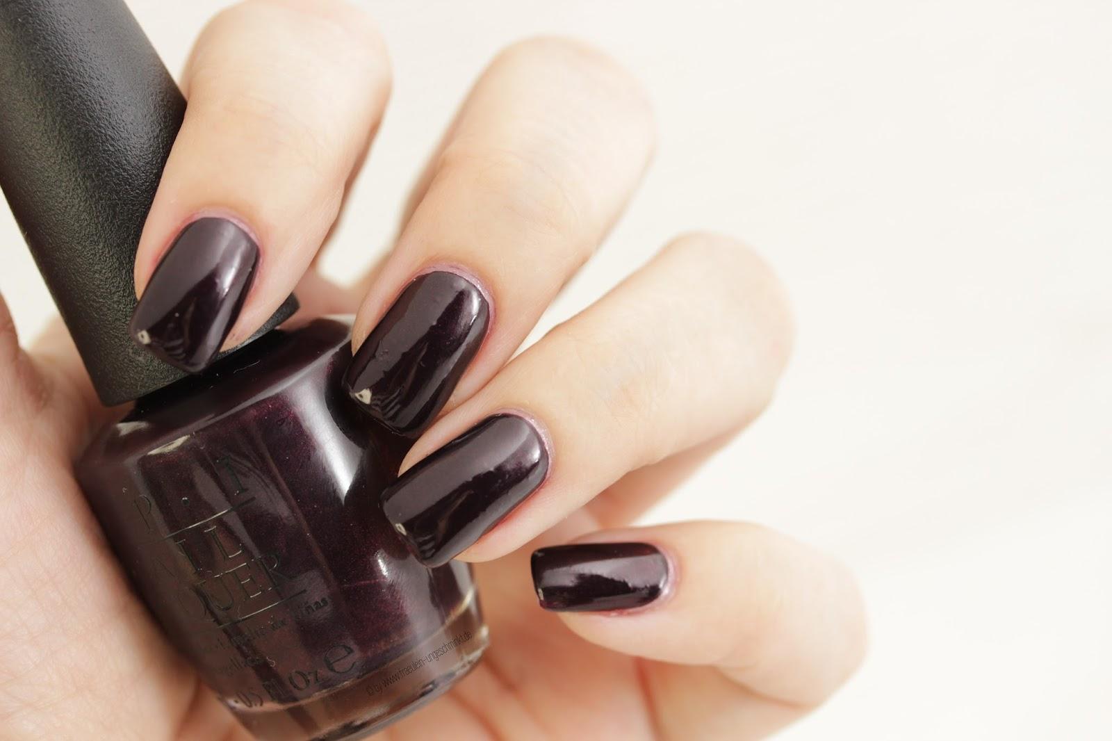 OPI Black Cherry Chutney | Nagellack (NOTD) | Beauty Blog von ...