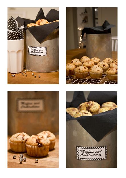 Muffins bak hos Liv i Villan