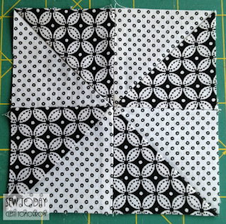 Sew two units together to make the pinwheel