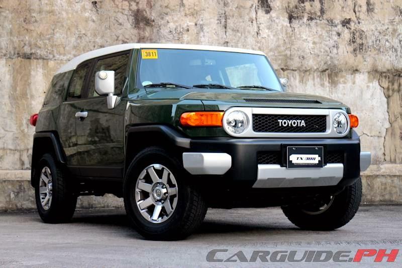 Review 2014 Toyota FJ Cruiser  CarGuidePH  Philippine Car News