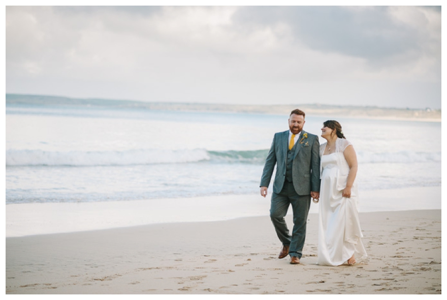Carbis bay beach wedding