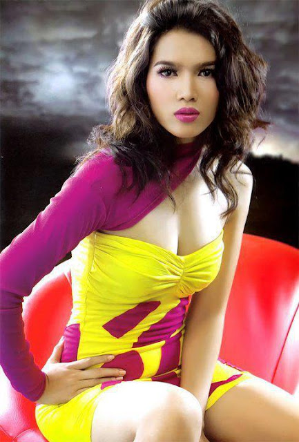myanmar sexiest model girls