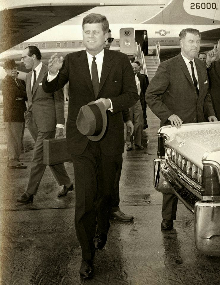 JFK AND BILL GREER