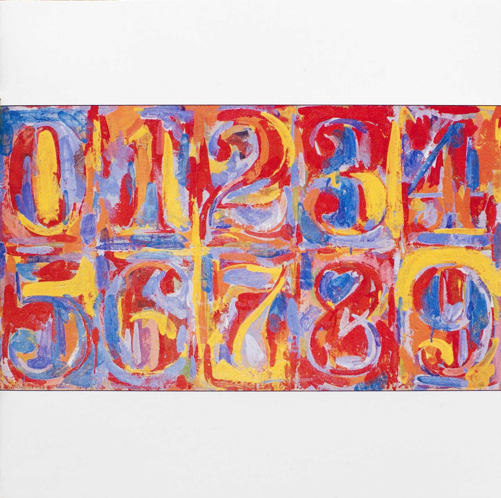 Posted 6th February 2013 by ChoisJasper Johns Numbers White