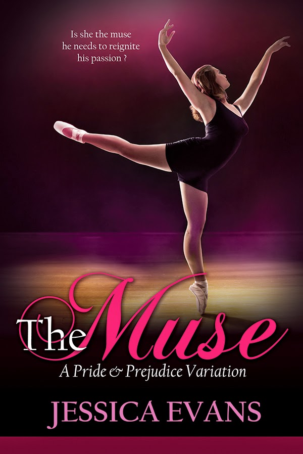 Book Cover - The Muse by Jessica Evans