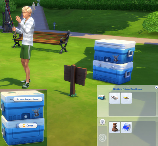 My sims 4 blog fish and food cooler boots by bienchen83 for Sims 4 fishing