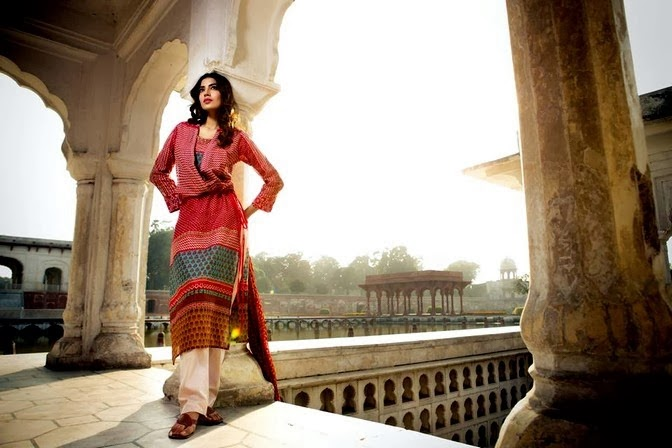 Colorful Lawn Print by Khaadi