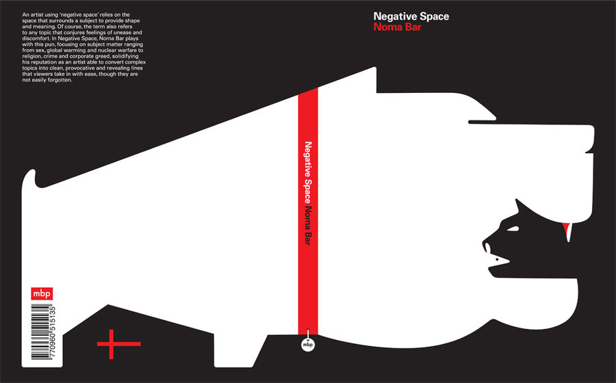 Doctor Ojiplatico. Noma Bar. Illustrations & Negative Spaces