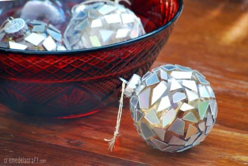 Trái châu đẹp lung linh từ đĩa CD
