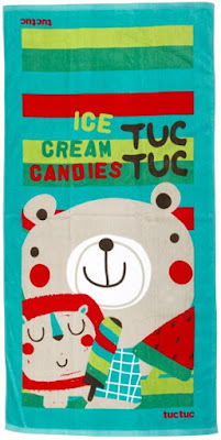 Tuc Tuc Ice Cream - Children's Beach Towel