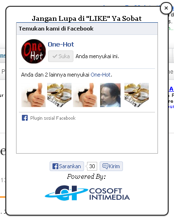Contoh Facebook Melayang
