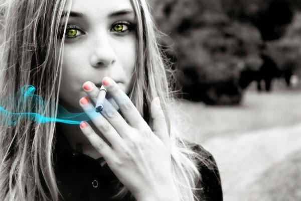 красивые фото курящие девушки