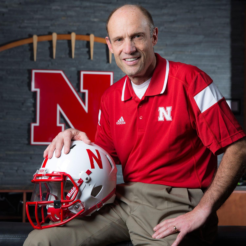 Shirts With Random Triangles: Nebraska head coach Mike ...