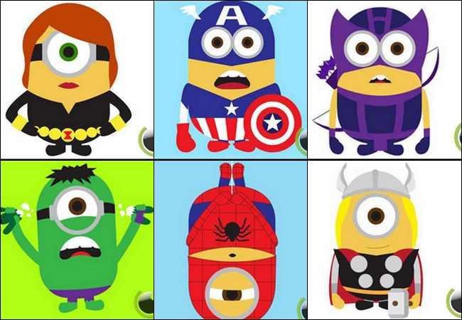 7 Para Minion yang Berubah menjadi Superhero