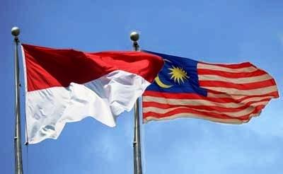 indonesia, malaysia, bendera