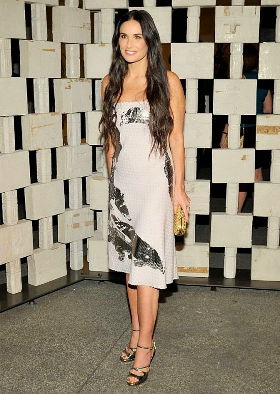 "So what exactly are these ""Diamond Candles"" we speak out? Demi Moore is a natural when it comes to turning every head. And the 50-year-old showed more of that captivating charm as she headed the Hammer Museum's 12 the annual gala in Los Angeles, USA on Saturday, October 11, 2014."