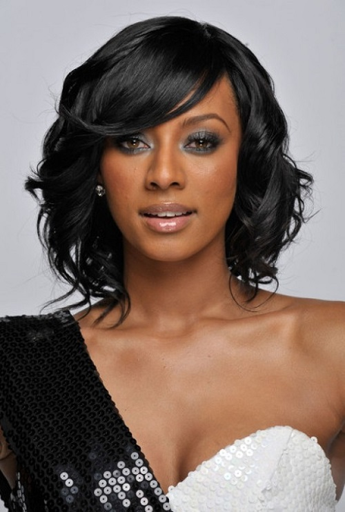 Bob Hairstyles for Black Women with Bangs 2013