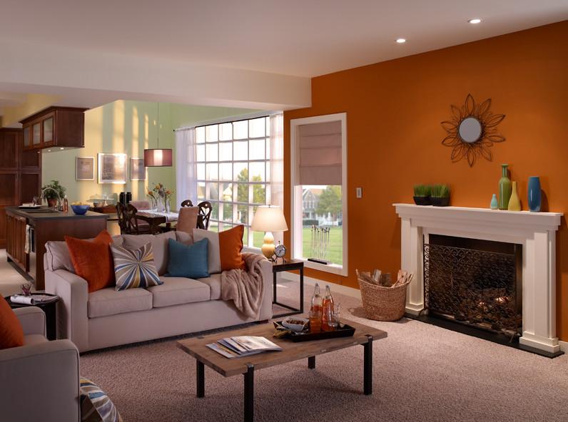 Wohnzimmer malen braun ~ Ideen für die Innenarchitektur Ihres Hauses