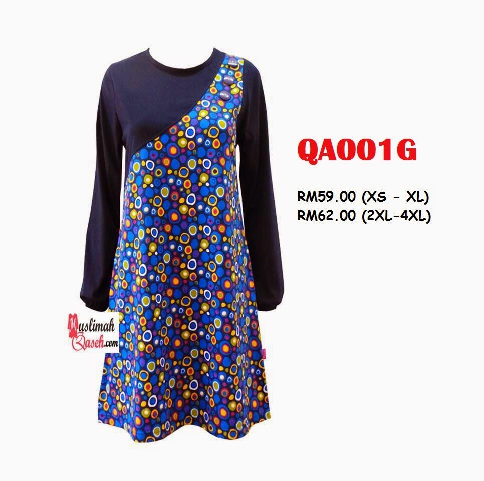 T-Shirt-Muslimah-Qaseh-QA001G