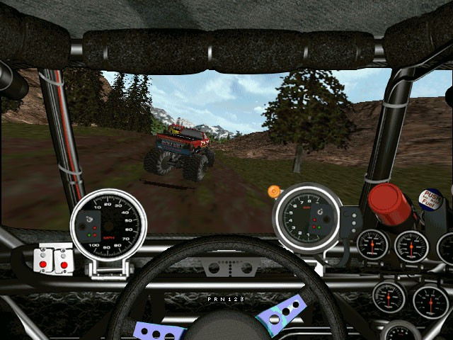 monster truck computer games