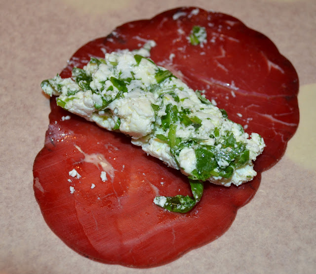 The traveling foodie: Bresaola rolls
