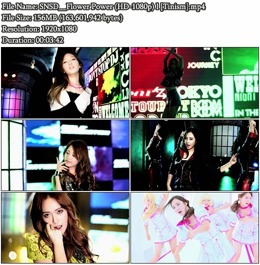 Download PV SNSD (Girls' Generation / 少女時代)- Flower Power (Full HD 1080p)