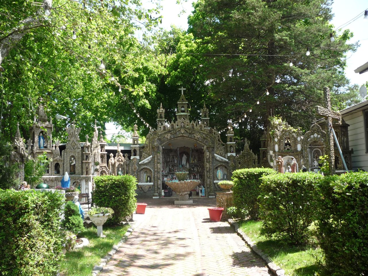 Our Lady of Mount Carmel Grotto Attraction