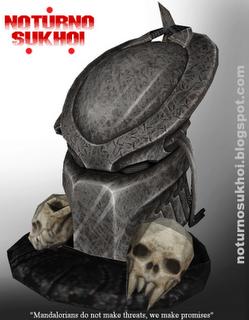 Predator Bio Mask Papercraf Free