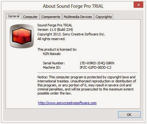 sony sound forge pro 11 crack only