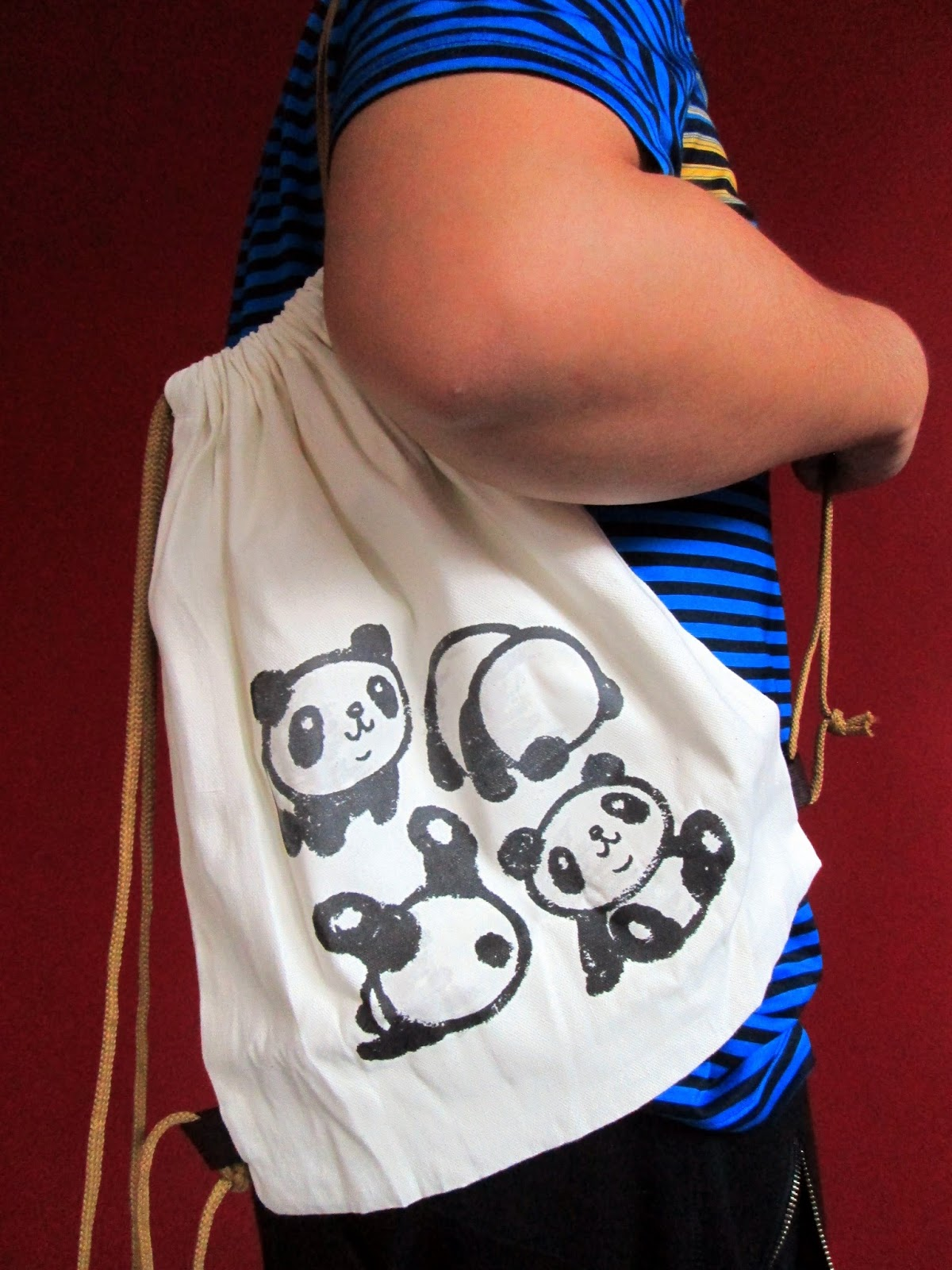 Lucky Citrine Something New Personalize It With Myriad Print Concepts Drawstring Bag Panda I Searched For A Cutie Patootie Illustration Online And Had Printed On This