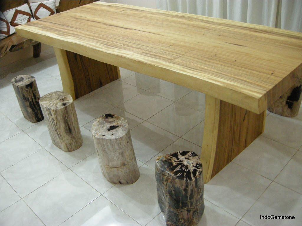 Indogemstone rustic wood furniture