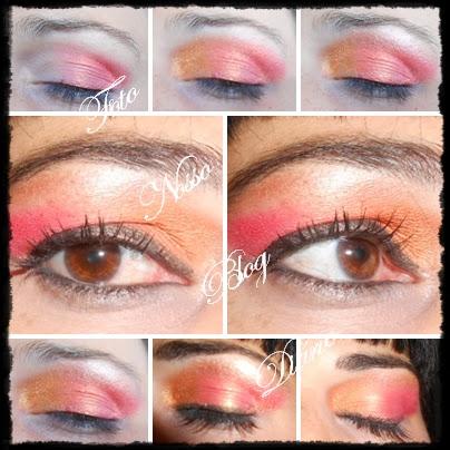 Make Paleta Ruby Rose Foto Nosso Blog Diário Dulcinéia de Sá