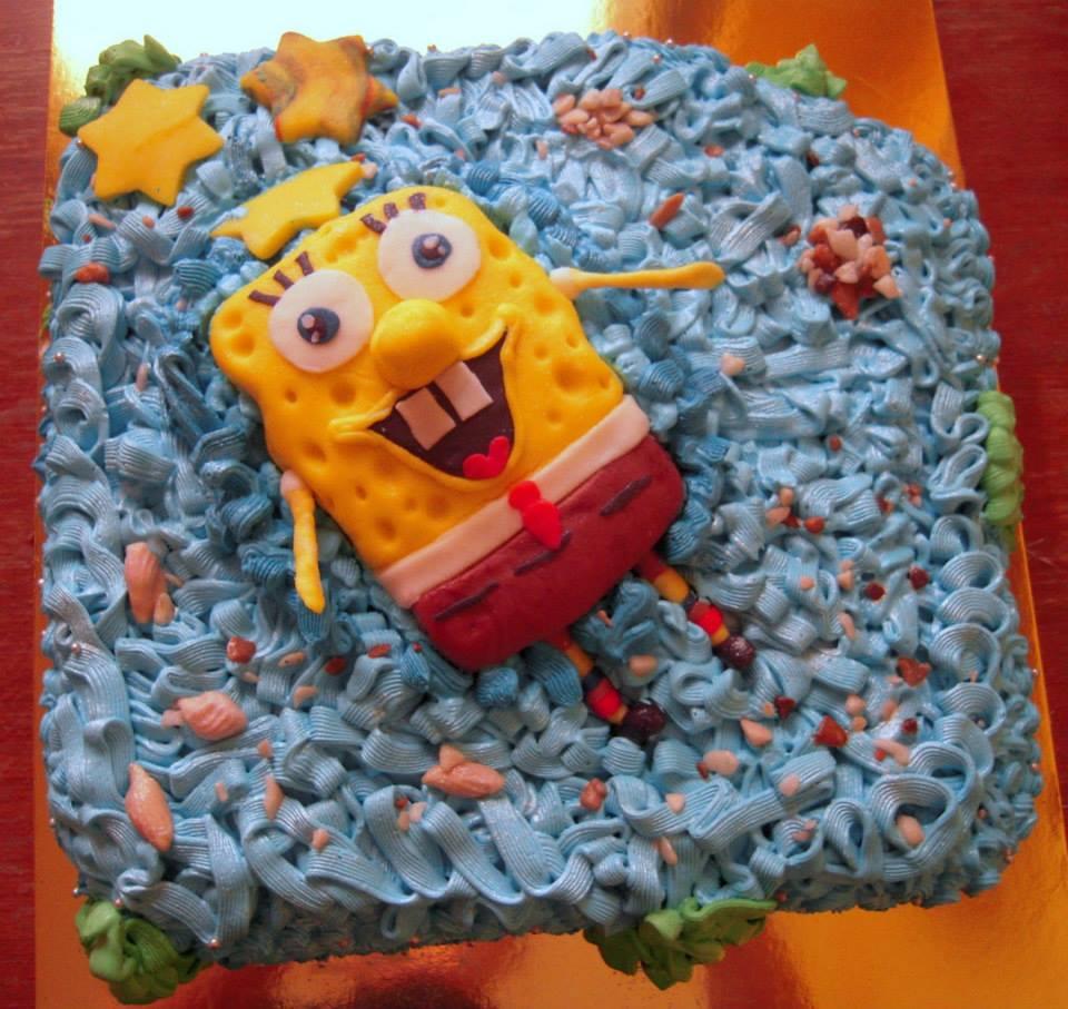 Sunđer Bob Kockalone - torta za decu