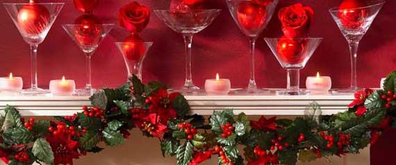 маленькие свечи дополнят декор