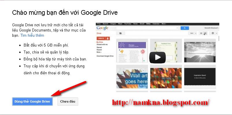 Hướng dẫn sử dụng Google Drive