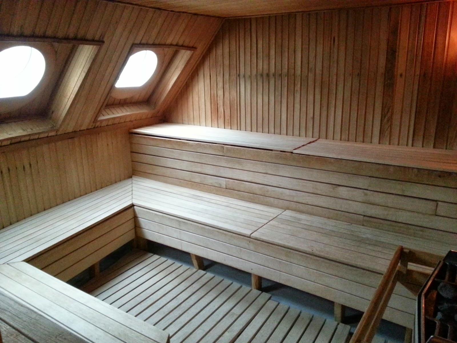 Hurtigruten MS Finnmarken - Sauna