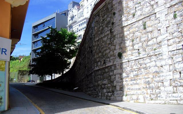 Calle Rampa de Sotileza en Santander