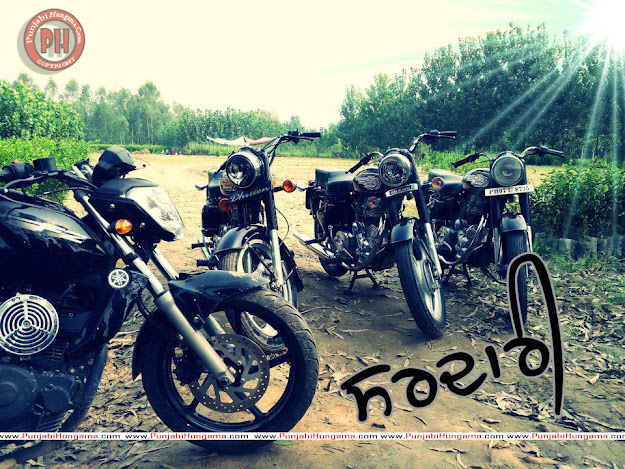 Punjabi Sardari Punjabi Bullet Bike HD Wallpapers