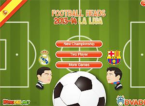 Football Heads La Liga 2013-2014