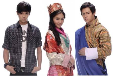 Princess and I - Gino, Princess Areeyah and Dasho jao