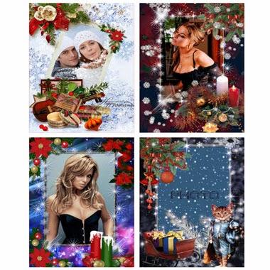 marcos digitales navideños