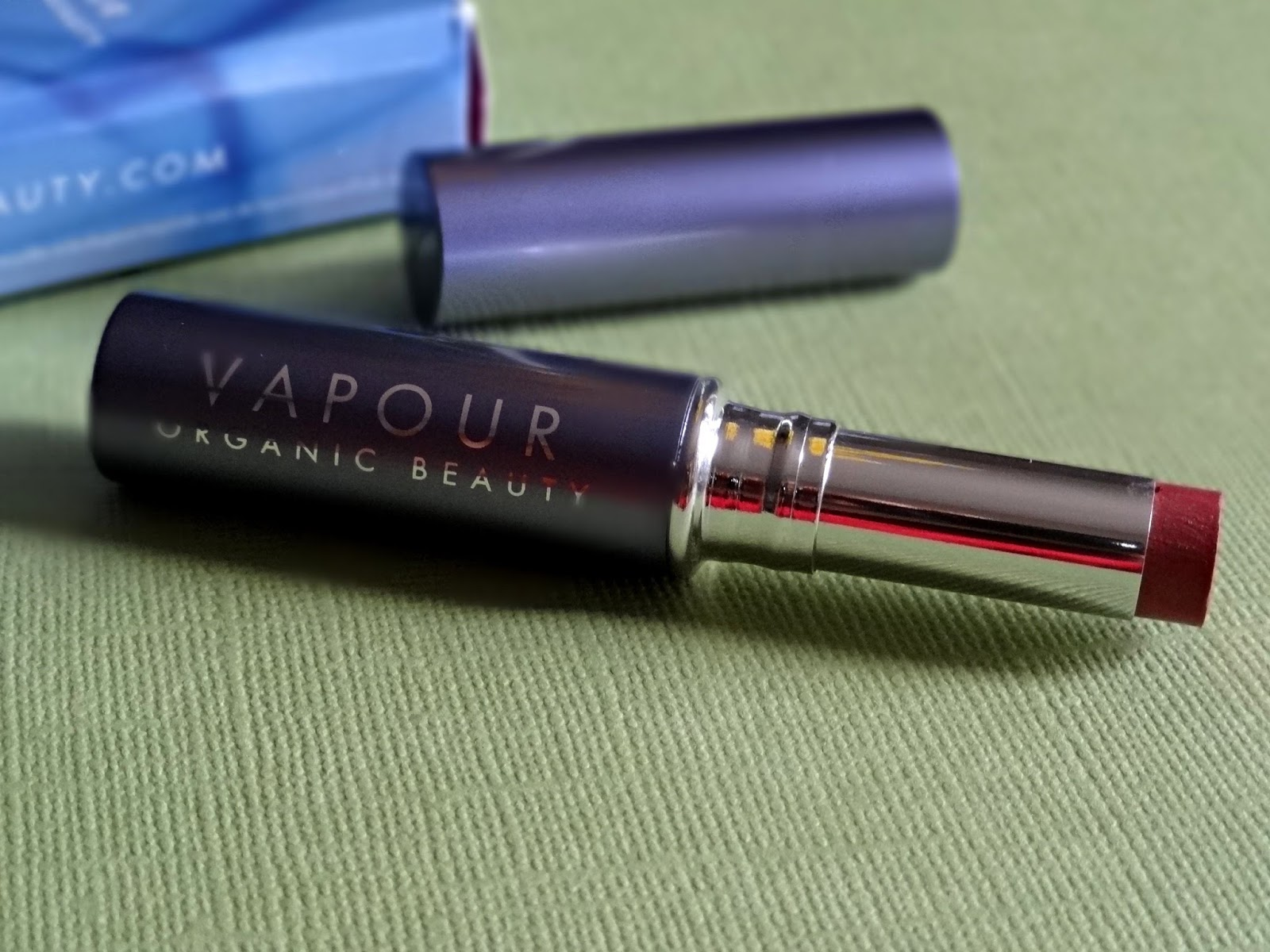 Vapour Organic Beauty Siren Lipstick in Tempt Review, Photos, Swatches