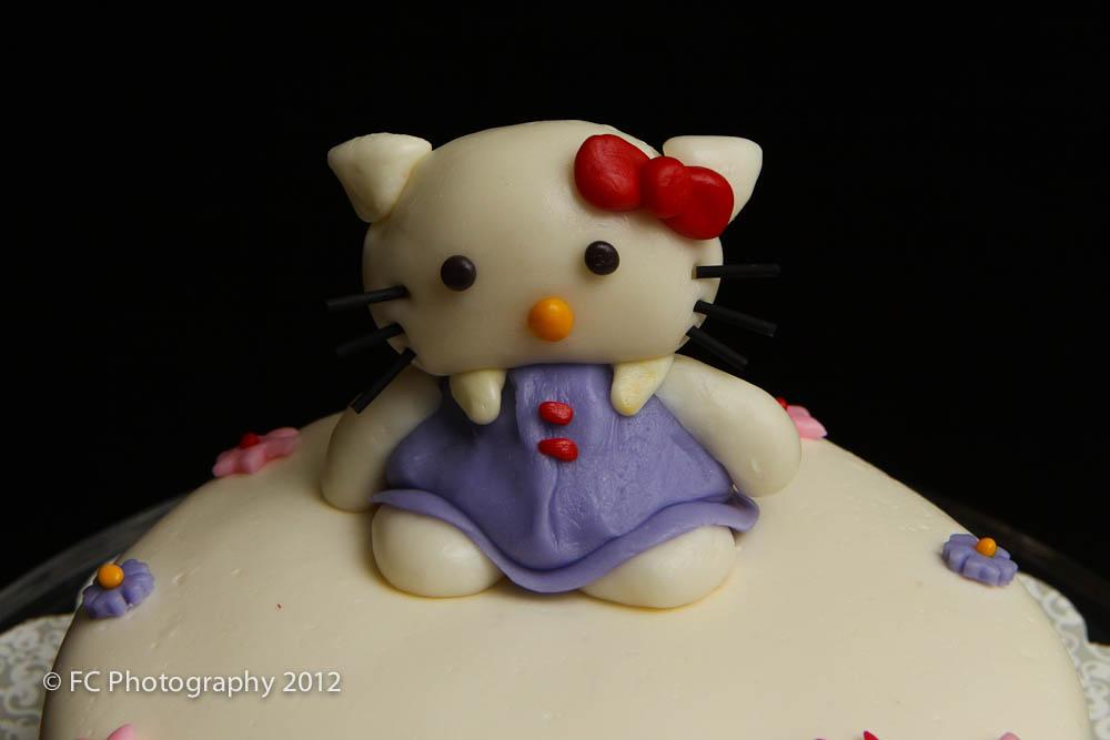 Hello Kitty Fondant Cake Lefty Photo Blog