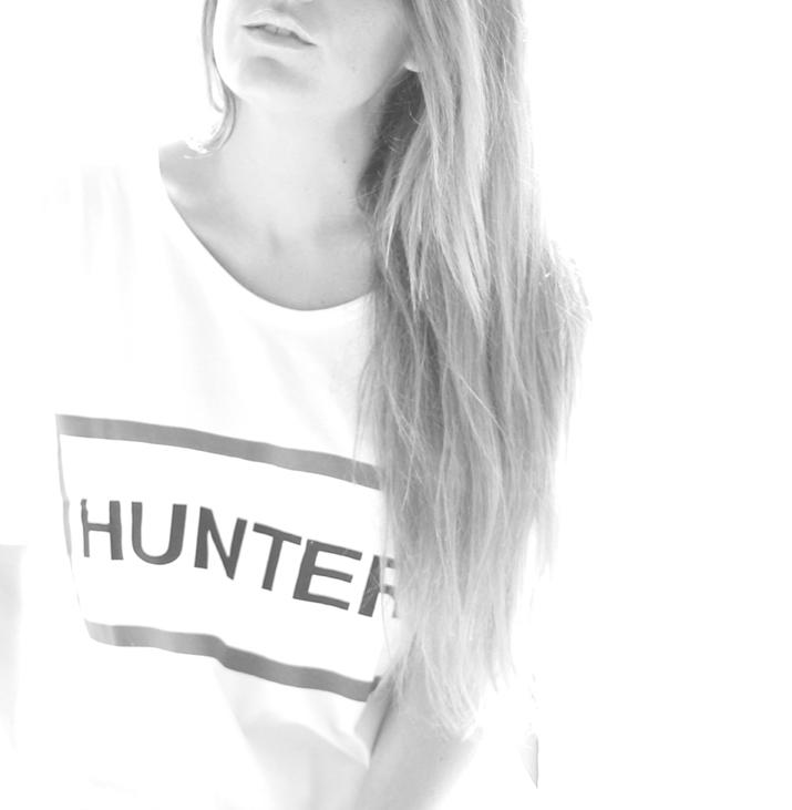 Hunter fashion blogger